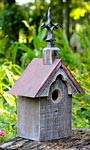 Heartwood Cottonwood Chapel Bird House