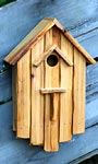 Heartwood Huck's Hideaway Bird House