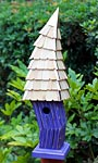 Heartwood Birdiwampus Bird House, Purple
