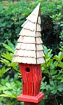 Heartwood Birdiwampus Bird House, Red