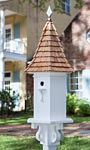 Heartwood The Charleston Bird House, Shingled Roof