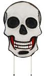 Land & Sea Metal Skull Yard Art