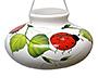 Lone Wolf Ceramic Hummingbird Feeder, Ladybug, 10 oz.