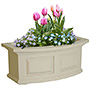 "Mayne Nantucket Window Box, Clay, 24""L"