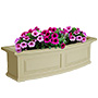 "Mayne Nantucket Window Box, Clay, 36""L"