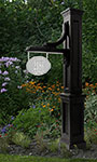 Mayne Woodhaven Sign Post, Black