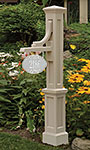 Mayne Woodhaven Sign Post, Clay