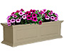 "Mayne Fairfield Window Box, Clay, 36""L"