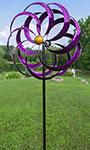 """Marshall Kinetic Plumberry Windward Spinner, Purple, 84""""H"""