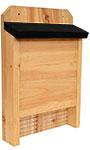 Nature's Way Cedar Single Chamber Bat House, 60 bats