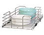 """Grayline by Panacea Slide Out Basket for 12"""" Wide Cabinets"""