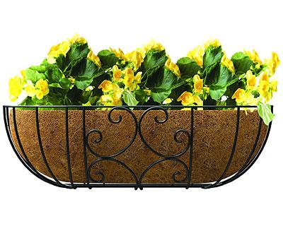 Panacea 87857 Contemporary Window /& Deck Planter