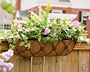 "Panacea Regency Window Box Planter, Brown, 30""L"