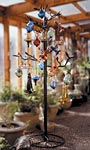 Parasol Large Display Tree, Black, 7'3""