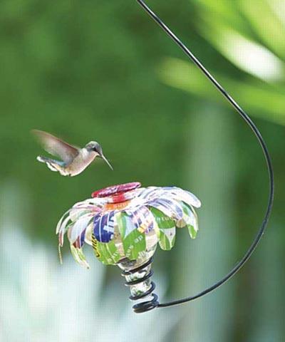 Parasol Sugar Shack Hummingbird Feeder W Hook Clear 4 Oz