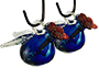 Parasol Pixie Hummingbird Feeders, Blue, 4 oz., Pack of 2