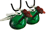 Parasol Pixie Hummingbird Feeders, Green, 4 oz., Pack of 2