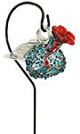 Parasol Pixie Staked Hummingbird Feeder, Sprinkles, 4 oz.