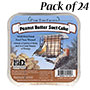 Pine Tree Farms Peanut Butter Suet Cakes, 12 oz., Pack of 24