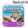 Pine Tree Fruit, Berry, & Nut Suet Cakes, 12 oz., Pack of 24