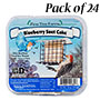 Pine Tree Farms Blueberry Suet Cakes, 12 oz., Pack of 24