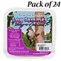 Pine Tree Log Jammer Berry-N-Nut Suet Plugs, 24 3-packs
