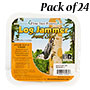 Pine Tree Log Jammer Insect Suet Plugs, 24 3-packs