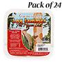 Pine Tree Log Jammer Hot Pepper Suet Plugs, 24 3-packs