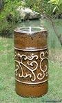 Etruscan Ceramic Firepot, Chestnut
