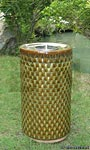 Apollo Ceramic Firepot, Sierra Garden