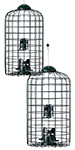 Stokes Squirrel Resistant Caged Bird Feeders, Pack of 2