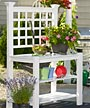 New England Burbank Potting Bench