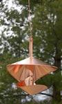 Vasse Vaught Vogeli Small Copper Bird Feeder