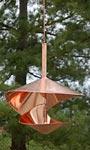 Vasse Vaught Vogeli Large Copper Bird Feeder