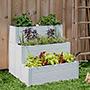Vita Gardens Cascading Composting Garden Bed, 3'L x 2.75'W
