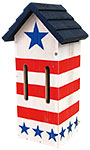 Woodlink Patriotic Butterfly House