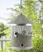 Woodlink Rustic Farmhouse Mesh Silo Bird Feeder