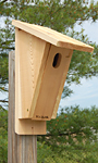 Woodlink Sloped Front Bluebird House