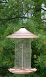 Woodlink Brushed Copper Sunflower Bird Feeder