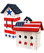 Woodlink Patriotic Butterfly and Wren House Package