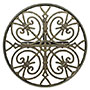 Whitehall Chadwick Round Hose Holder, French Bronze
