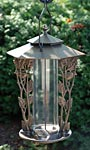 Whitehall Chickadee Silhouette Bird Feeder, French Bronze