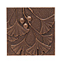 "Whitehall Ginkgo Leaf Wall Art, Antique Copper Colored, 8""W"