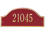 Whitehall Admiral Wall Plaque, Petite, 1 Line