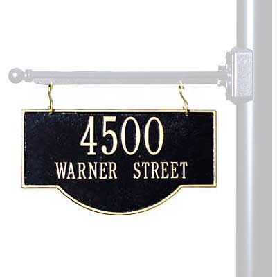 6108631ab31 Whitehall Two-Sided Hanging Arch Sign