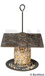Whitehall Cardinal Tube Bird Feeder, Oil Rubbed Bronze