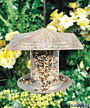 Whitehall Dragonfly Tube Bird Feeder, Copper Verdi