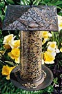 Whitehall Cardinal Large Tube Bird Feeder, French Bronze