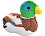 """Wild Republic Audubon Mallard Duck with Sound, 4.75""""H"""